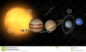 Solar System Planets Space Universe Sun Stock Images ...