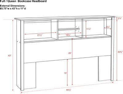 Size Bookcase Headboard Plans by Free Bookcase Headboard Plans Diy Projects Bookcase