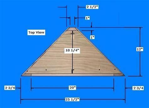 Living Room Shelf Plans by Free Corner Shelf Plans How To Build A Corner Shelf