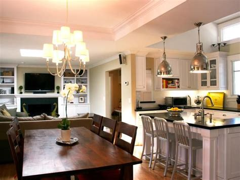 living room and kitchen together pictures den kitchen combos combined kitchen and dining room