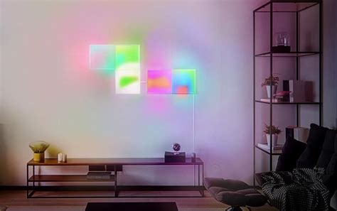 lifx debuts new homekit enabled tile modular wall lights