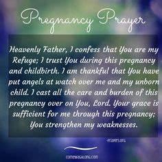 A Prayer for Ex... Pregnant Care Quotes