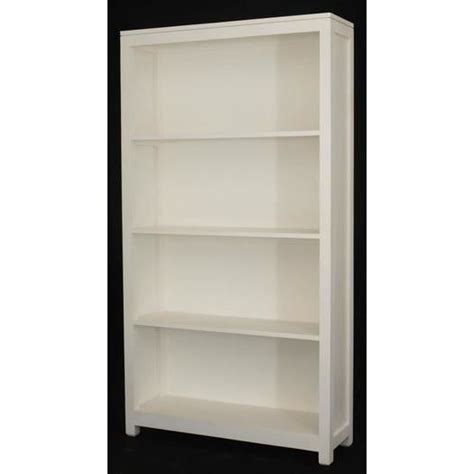 Wide Bookshelf by Amsterdam Wide Timber Bookcase Bookshelf In White Buy