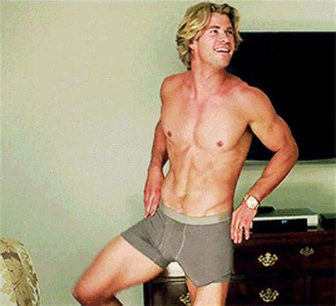 Chris Hemsworth S Bulge Takes Over New Vacation Trailer Nsfw Pics Us Weekly