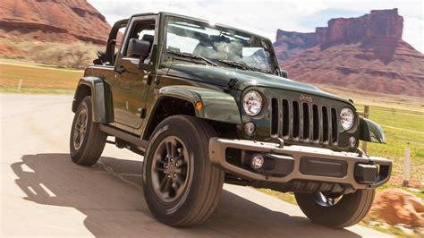 The Jeep Wrangler 75th Anniversary