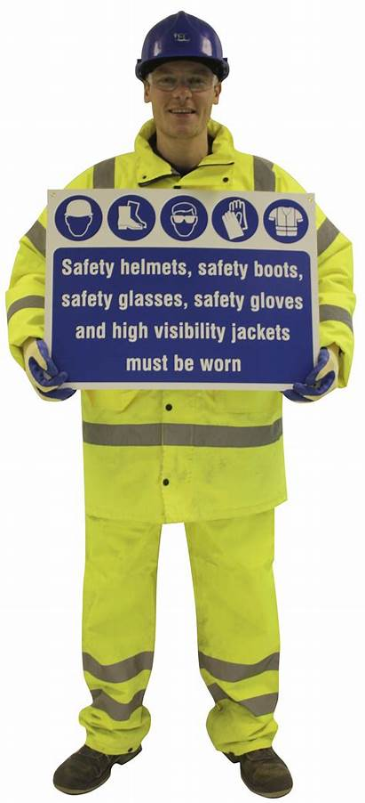 Safety Cut Figure Signs Tsc Plastic