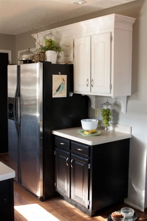 lower cabinet height 1x4s and crown added to top of cabinets for added height 971 | fa39e4083689951b8d73aa958848a12a