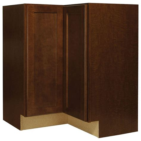 home depot unfinished cabinets lazy susan hton bay 28 375x34 5x16 5 in shaker lazy susan corner