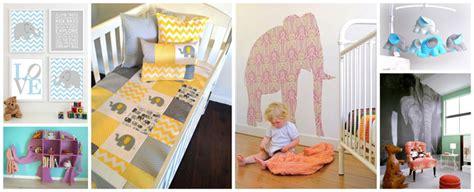 chambre bebe bebe9 deco chambre bebe elephant