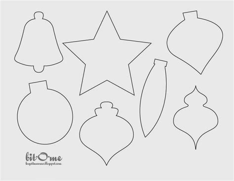 figure da ritagliare primrose felt pattern figure natalizie