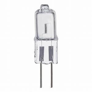 Philips watt halogen t mini bi pin g base volt low
