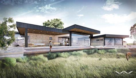modern contemporary home plans hill country contemporary casa tre cortili zbranek and