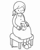 Coloring Pregnant Printables Coal Mom Printable μητέρας γιορτή Template Miner Pregnancy Mikapanteleon Mother Sheets 為孩子�的�色頁 της Templates Prego Getdrawings Afkomstig sketch template