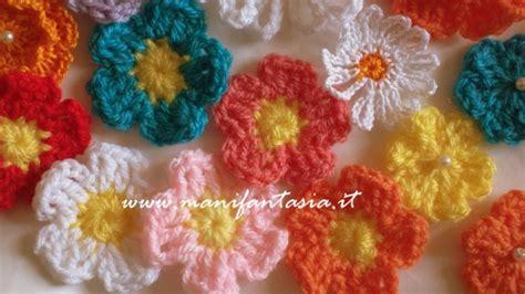 fiori a uncinetto tutorial fiori uncinetto schemi e tutorial facili e belli