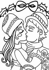 Kiss Coloring Pages sketch template