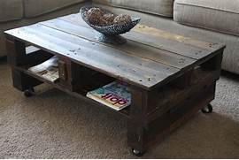 Wilsons And Pugs Pallet Coffee Table