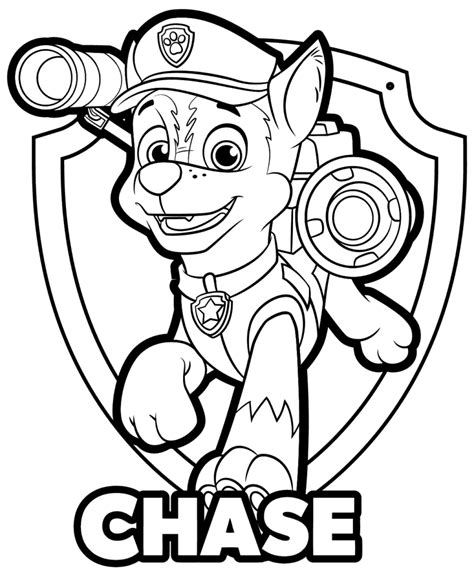coloring rocks Paw patrol coloring pages Paw patrol