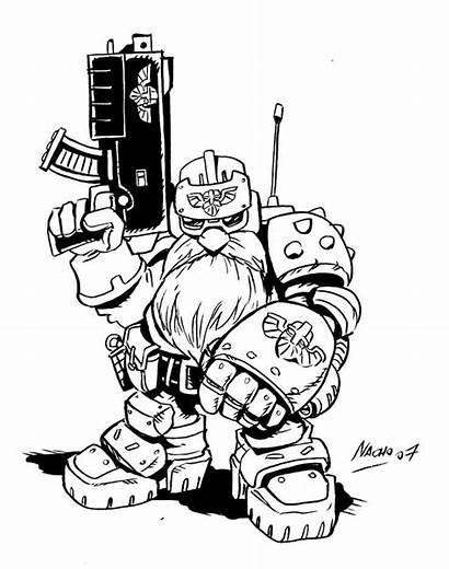 Squats Space Squat Warhammer 40k Dwarf Nachomon