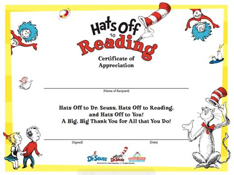 Dr Certificate Template Happy Birthday Dr Seuss School Library Ideas And