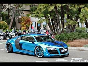 Audi Monaco : audi r8 v10 plus by prior design insane acceleration in the monaco tunnel youtube ~ Gottalentnigeria.com Avis de Voitures