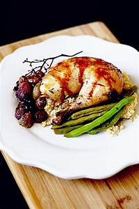 Rosemary Roasted Chicken with Roasted Grapes • Steele ...