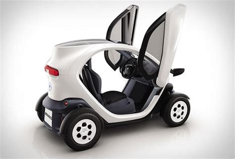 New Small Electric Car by Renault Twizy Itsgood Electric Cars Concept Cars