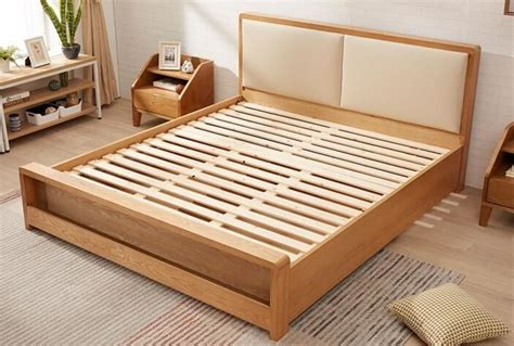 Size Wood Bed Frame by Pine Size Solid Wood Bed Frame With Drawers Chunky