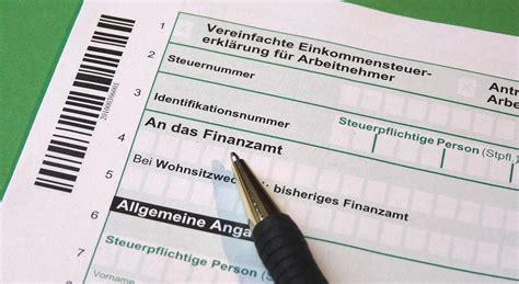finanzamt steuererklaerung steuererstattung und