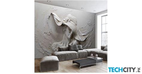 buy   square meter gray art wall wallpaper