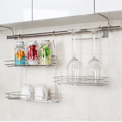 hanging kitchen cabinets on wall qoo10 kitchen rack kitchen dining 6989