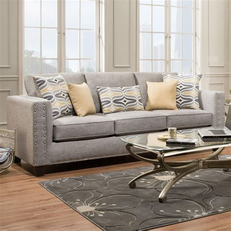 American Furniture Sofa by American Furniture 1700 Contemporary Sofa Miskelly