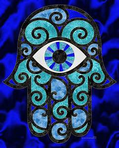 Hamsa Hand Coloring Pages images