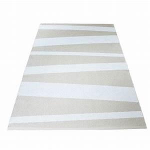 emejing tapis raye noir beige pictures adininfo adininfo With tapis de couloir avec canape tissu xxl
