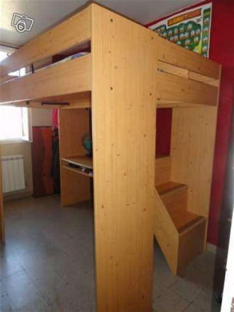 lit mezzanine avec bureau escalier meubles d 201 coration