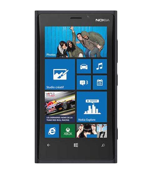 nokia lumia 920 black mobile phones at low prices snapdeal india