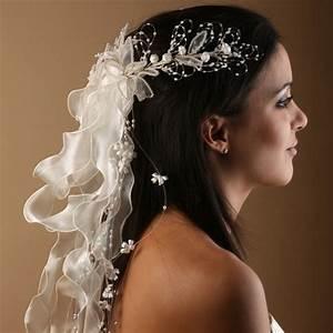 Coiffure Femme Pour Mariage : coiffure mariage accessoires pour cheveux ~ Dode.kayakingforconservation.com Idées de Décoration