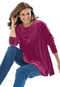 Woman Within Plus Size Tunic Tops