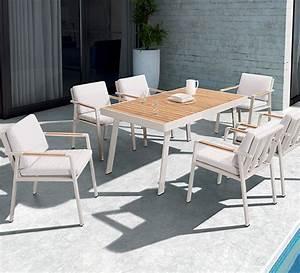 Salon De Jardin Pliant : salon de jardin pliant pop beige mat lisse 4 places 159 ~ Teatrodelosmanantiales.com Idées de Décoration
