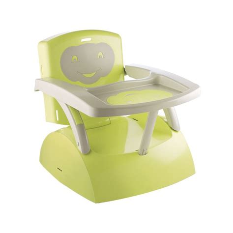 thermobaby rehausseur de chaise thermobaby réhausseur de chaise babytop vert vert et gris