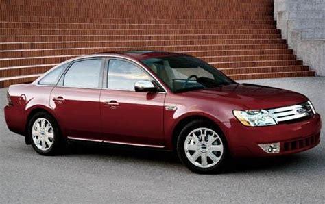 ford taurus sedan pricing features edmunds