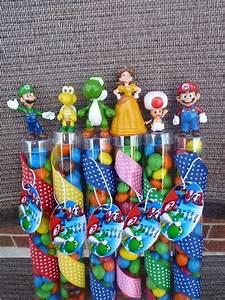Super Mario Deko : super mario bros birthday party favors by angilee123 on etsy sanyvk pinterest ~ Frokenaadalensverden.com Haus und Dekorationen