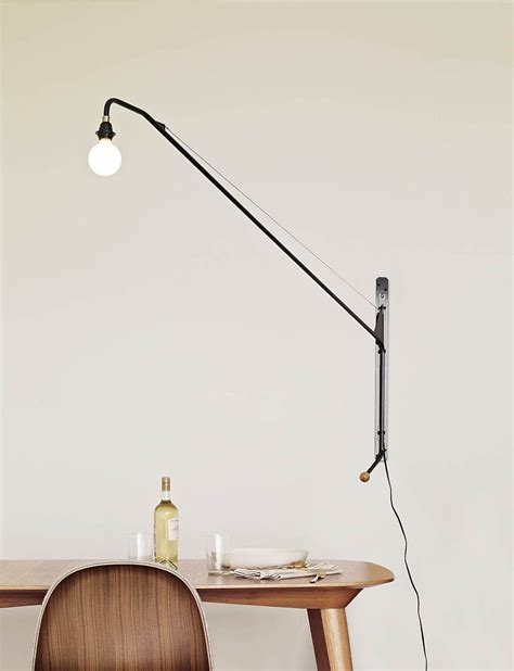potence pivoting wall l by jean prouv 233 for vitra up