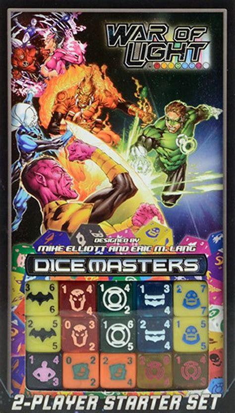 124 pesos con 92 centavos $ 124. DC Comics Dice Masters: War of Light ~ Juego de mesa • Ludonauta.es