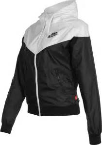 Polyester Rug by Nike Windrunner W Jas Zwart Wit In De Weare Shop