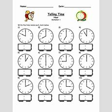 Free Easy Elapsed Time Worksheets  Activity Shelter