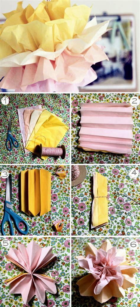 35 Tissue Paper Pom Poms Guide Patterns