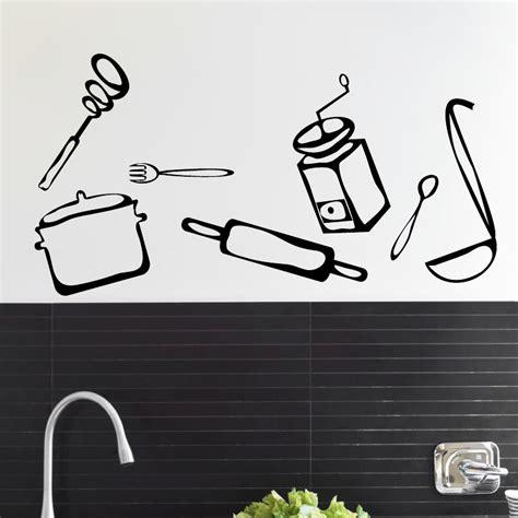 stickers pour la cuisine stickers muraux pour la cuisine sticker ensemble d