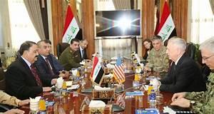 Trump's defense chief Mattis tells Iraq: We're not here ...