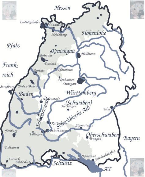 grenze baden württemberg landkarte baden w 252 rttemberg utele und frido mit der grenze zwischen baden und schwaben