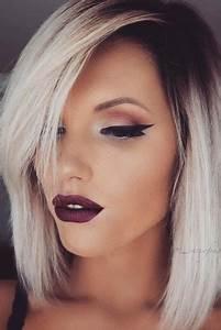 Coupe Carré Visage Rond : magnifiques coupes et coiffures pour visage rond ~ Melissatoandfro.com Idées de Décoration